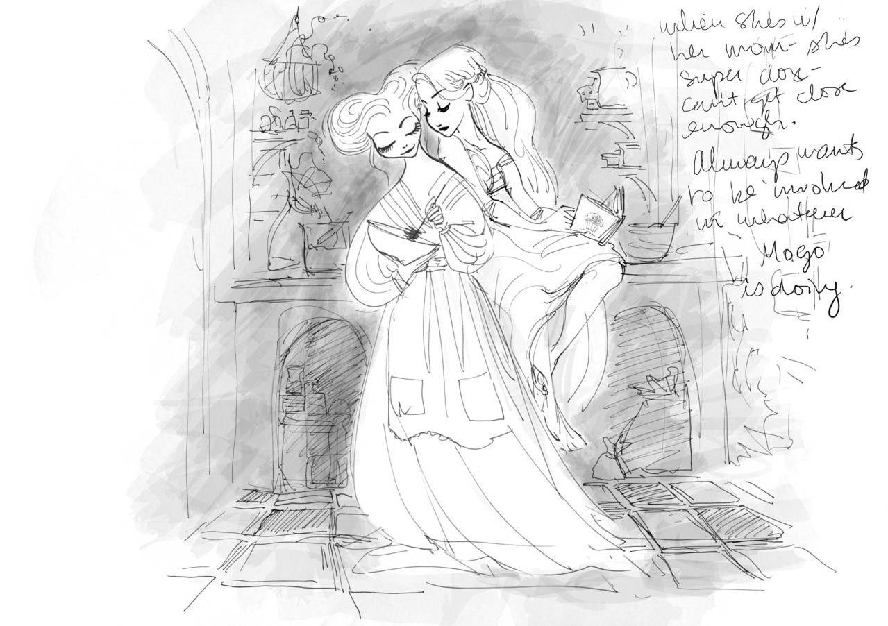 tangled concept art claire keane 01 jpgTangled Concept Art Claire Keane