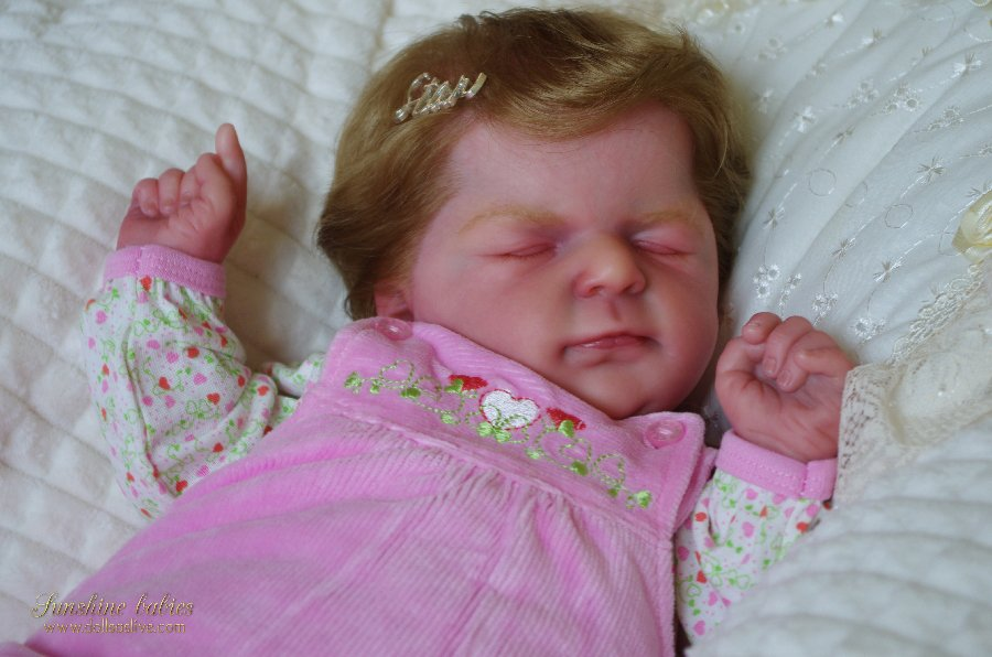EVELINE: Ellis - Olga Auer: Dolls as Live Made with Love SUNSHINE BABIES Reborn dolls